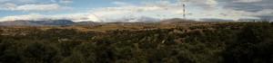 Panorámica del Monte de El Pardo hacia la sierra Madrileña (Fotografía: Victor Giner)