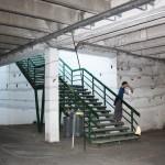 Redes entrada parking