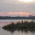Atardece en Doñana... empieza nuestro viaje