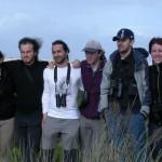 SEO-Monticola en Doñana 2007, De izquierda a derecha: Estela, Álvaro, Leandro, Juancho, Jose, Ana y Laura